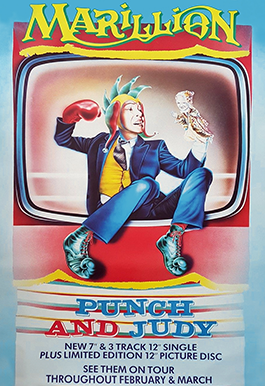 Promotional Poster: Punch And Judy - January 1984